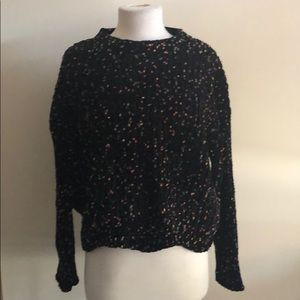 Vici Chenille Cropped Sweater